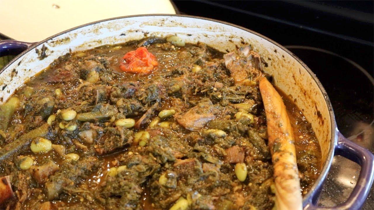 Ragout De Legumes A La Chevre Legim Kabrit Cuisine Haitienne Youtube