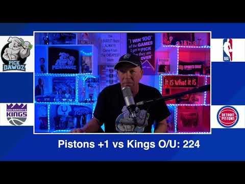 Detroit Pistons vs Sacramento Kings 2/26/21 Free NBA Pick and Prediction NBA Betting Tips