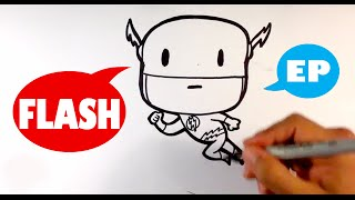 How to Draw Cute Flash - Easy Pictures to Draw