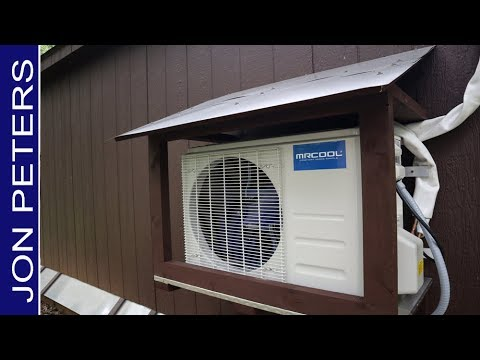 Building a Storage Shed for DIY Ductless Mini Split - MRCOOL