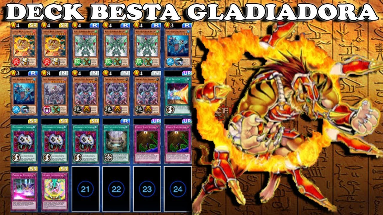 Gladiadora youtube 8 - 4 5