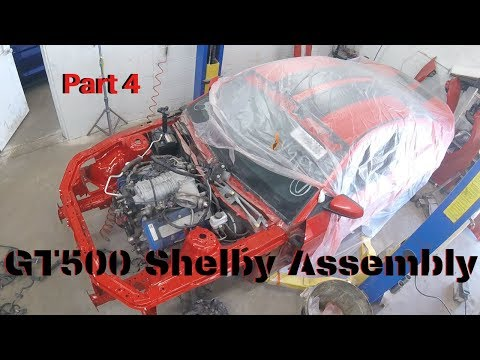 Rebuilding Wrecked 2011 Mustang GT500 Pt 4 Assembly