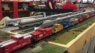 The New England Model Train Expo 2018 (Marlborough Train Show)