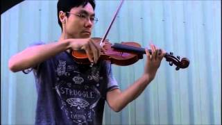 Trinity TCL Violin 2016-2019 Grade 0 Initial A4 Wilson Bow Rock Performance