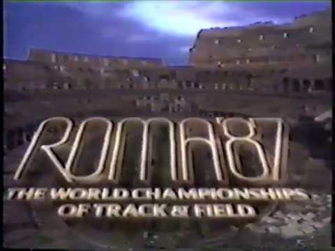 1987 IAAF World Track and Field Championships - Day 6