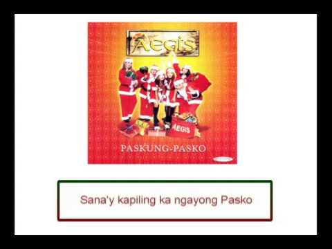 Aegis - Sana'y Kapiling Ka Ngayong Pasko (Lyrics Video)