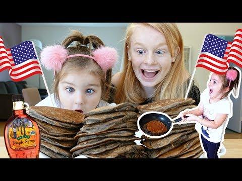 OUR FiRST PANCAKE DAY iN THE USA! 😍