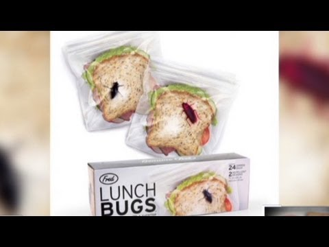 Anti-theft bags deter lunch thieves.