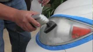 nUVizion Headlight Restoration - Toyota Camry
