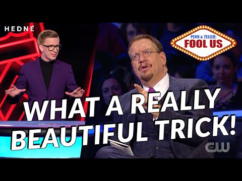 Penn & Teller: Fool Us | Magician and mentalist HEDNÉ dazzles with card magic!