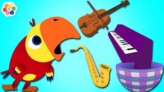 Instrumentos de Música Clásica para Niños con Larry   BabyFirst Español