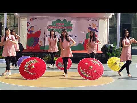 Umbrella Dance Mandarin SMA Bintang Mulia Bandung