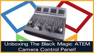 Blackmagic Design ATEM Camera Control Panel- Unbox Talk