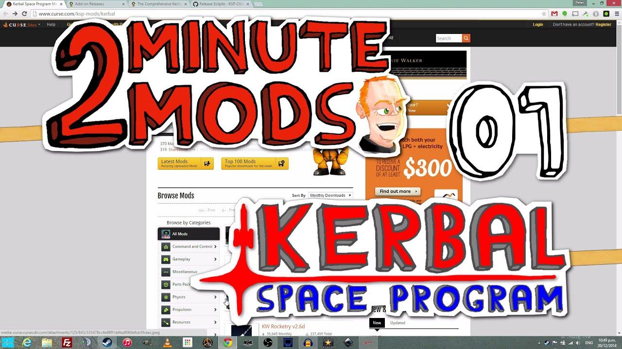 How to install CKAN - 2 Minute Mods - Kerbal Space Program 01