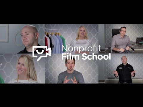 Nonprofit Film School — The skills nonprofits need to tell their stories through video.