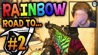 'COME BACK HERE!' - Road to - Rainbow KEM #2 LIVE w/ Ali-A! - (Call of Duty: Ghost Gameplay)