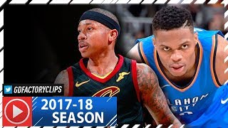 Russell Westbrook vs Isaiah Thomas PG Duel Highlights (2018.01.20) Cavaliers vs Thunder - SICK!
