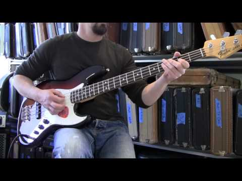 Fender American Special Jazz Bass Demo Www.eddievegas.com Eddie Vegas