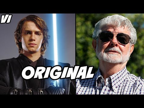 Anakin RETURNS From the Dead in George Lucas Original Script - Star Wars Explained