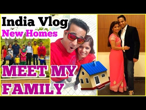 India Vlog | New Home ,Meet My Family | SuperPrincessjo