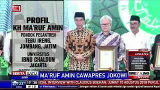 Profil Ma'ruf Amin, Cawapres Pilihan Jokowi