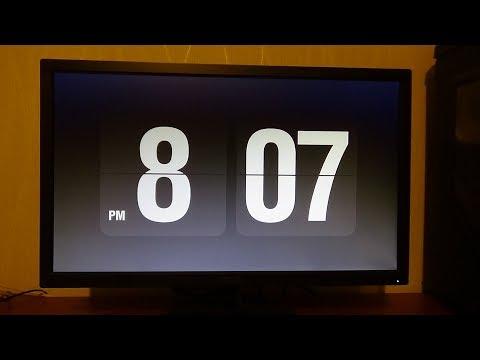 كيف تحصل على حامي شاشه على شكل ساعه رقميه للويندوز والماك  Flip Clock Screensaver Mac & Windows