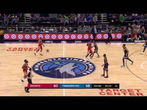 3rd Quarter, One Box Video: Minnesota Timberwolves vs. Houston Rockets