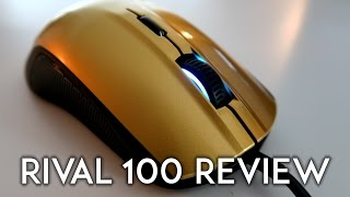 Gold SteelSeries Rival 100 Mouse Review - Amazing Gaming Mouse!