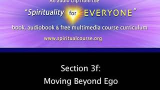 3f \Moving Beyond Ego\