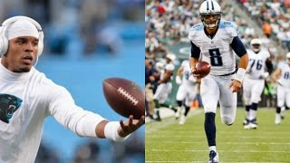 WHO CAN GET A 99YD TOUCHDOWN FIRST?!? CAM NEWTON VS MARCUS MARIOTA @ WIDE RECEIVER!!!