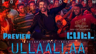 Petta: Ullaallaa song preview review | Second single | Rajinikanth | Anirudh | Thalaivar Baila