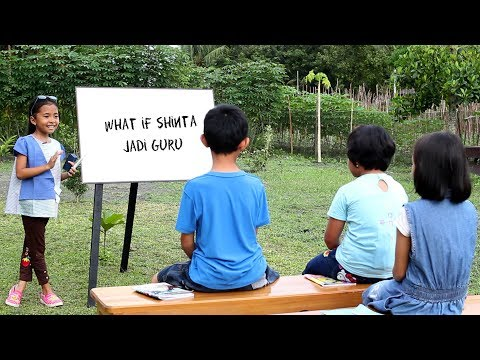 What if Shinta Jadi Guru Bahasa Inggris - Funniest Bloopers - Parody Kids Video