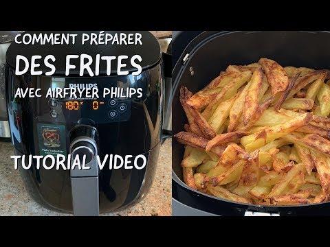 Comment Préparer Des Frites Avec Airfryer Philips