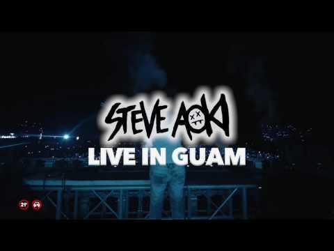 Steve Aoki LIVE IN GUAM | TVC 2