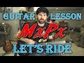 How To Play Let's Ride by MxPx - Guitar Lesson With Tab!
