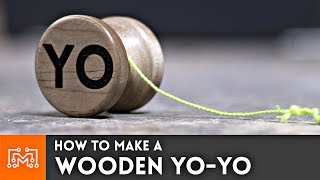How to make a wooden Yo-yo (with a bearing) // Woodworking