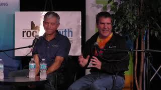 RocGrowth Candids 2017-03-01 * Rick Plympton & Mike Mandina *Optimax Systems