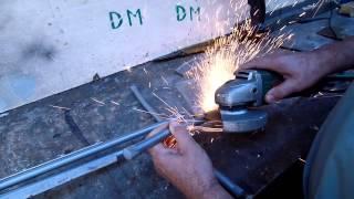 Как отремонтировать сушилку без сварки в дачной мастерской дедовским методом