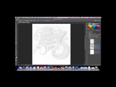 Tutorial: How to Trace and Digitize an Image in Photoshop using Pen Tool