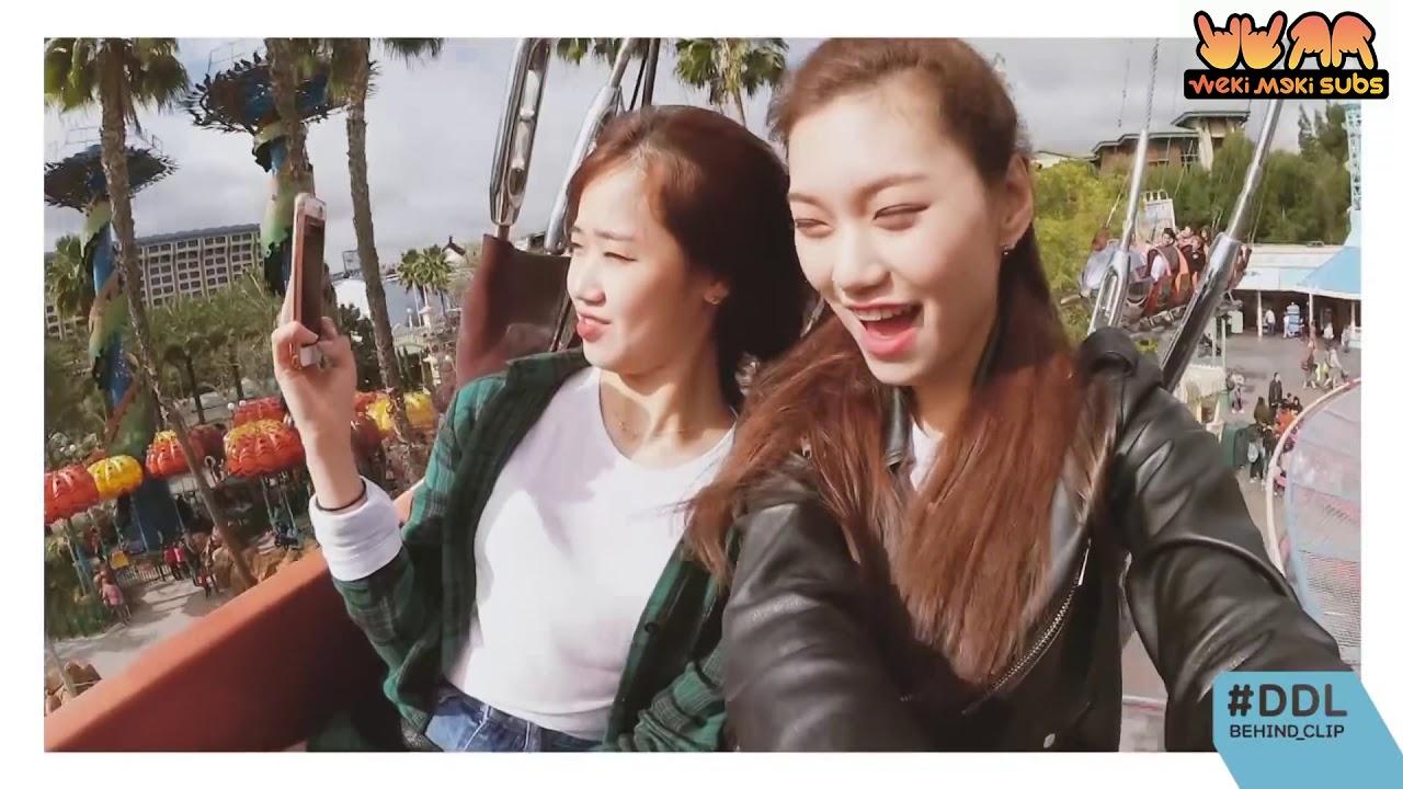 [ENG SUB] 170519 최유정&김도연 - DDL BEHIND CLIP '도댕 in 디즈니랜드'