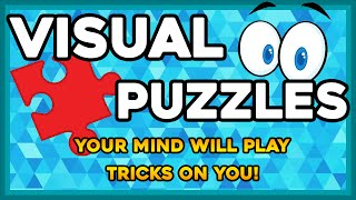 Visual Puzzles to Test your Brain! SUPER HARD QUESTIONS!!