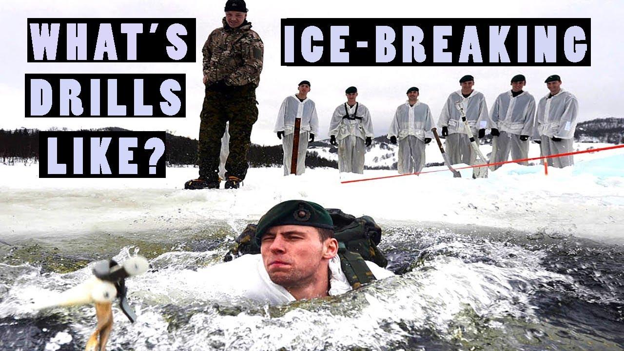 Extreme Winter Warfare • Soldiers Undertake Ice-Breaking Drills