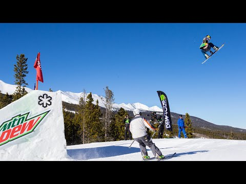 Chris Corning Highlights 2018 Men's Snowboard Slopestyle | Dew Tour Breckenridge