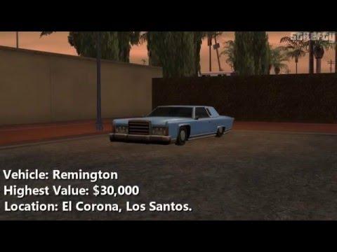 GTA San Andreas - Import/Export Vehicle #7 - Remington