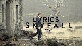 Skyfall- Adele (007- Skyfall Soundtrack)