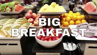 Big Luxury Breakfast in Five Star Hotel Al Qasr | Dubai