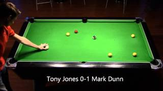 Tony Jones vs Mark Dunn