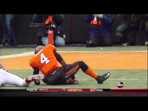 OU vs OSU 2013 last 1:41 seconds(osu radio broadcast)