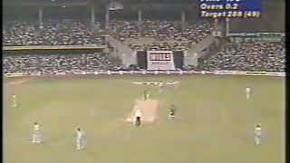 Saeed Anwar and Amir Sohail vs India Ball by Ball 1st 10 overs Wills World Cup 1996 QF Bangalore,