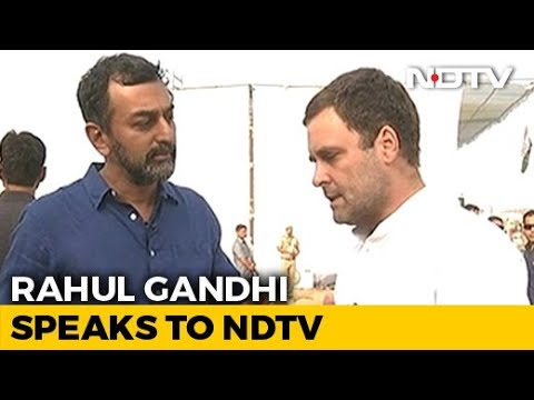 EXCLUSIVE | 'We Will Win The Elections Hands Down,' Rahul Gandhi Tells NDTV